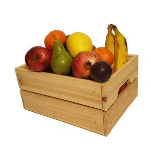 cesta frutas ecológicas