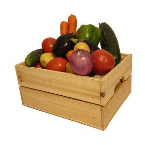cesta verduras ecológicas grande